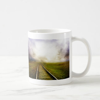 Across The Miles Basic White Mug