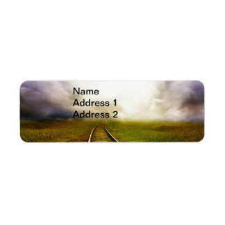 Across The Miles Return Address Label