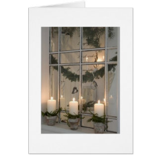 ACROSS THE MILES TO FRIENDS AT CHRISTMAS GREETING CARD