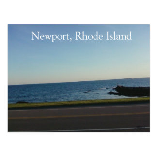Across The Road In Newport, Rhode Island Postcard