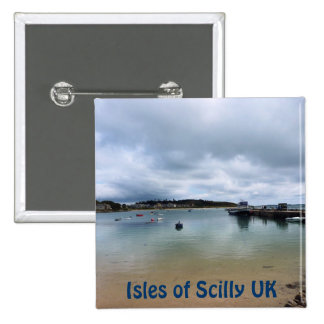 Across the Water 15 Cm Square Badge