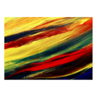 Acrylic abstract on canvas pack of chubby business cards