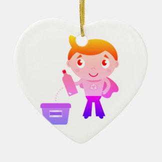 Acrylic Kids ornament : with ECO Boy edition