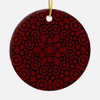 Acrylic Ornament : black, brown