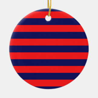 Acrylic ornament : red, blue / NAVY EDITION