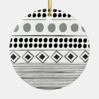 Acrylic ornament with deco