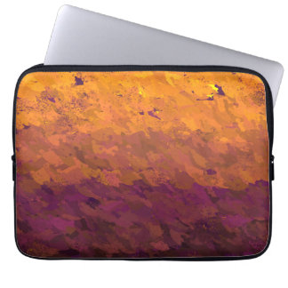 Acrylic paint laptop computer sleeves