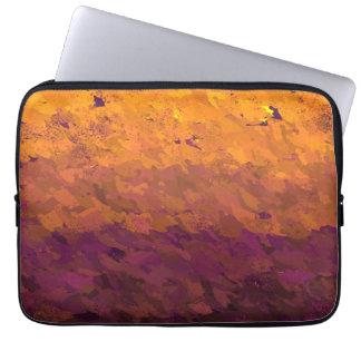 Acrylic paint laptop sleeve