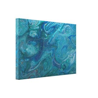 Acrylic Pour Art Canvas