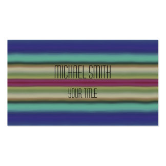 Acrylic Rainbow Abstract #2 Pack Of Standard Business Cards