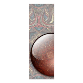 Acrylic Vision Jewel Bookmark Business Card