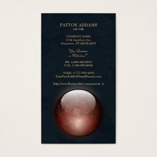 Acrylic Vision Jewel Vertical Business Card