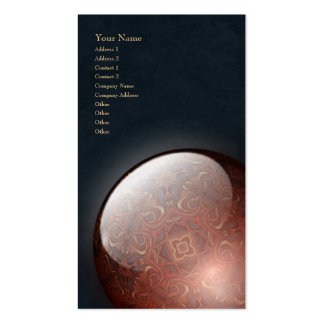 Acrylic Vision Jewel - Vertical Business Card