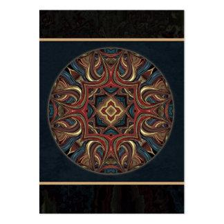 Acrylic Vision Mandala ACEO - Custom Business Card