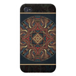 Acrylic Vision Mandala Custom iPhone 4 Case