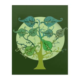 Acrylic Wall Art Personalise Family tree