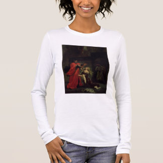 Act I, scene 3: Desdemona kneeling at her father's Long Sleeve T-Shirt