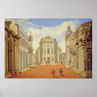 Act II, scenes I and VIII Poster