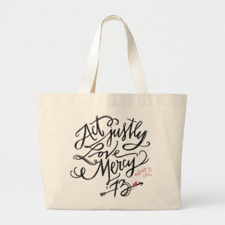 Act Justly. Love Mercy. / Abort73.com Tote Bags