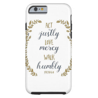 Act justly phone case