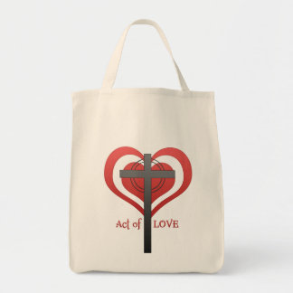 act of love canvas bag
