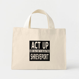 Act-up Shreveport tote bag