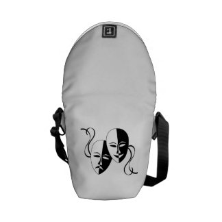 Acting Faces Courier Bag