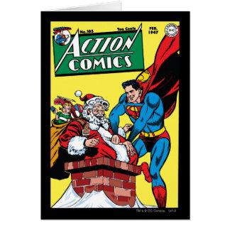 Action Comics #105 Greeting Card