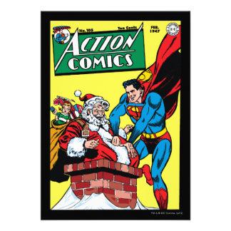 Action Comics 105 Custom Invite
