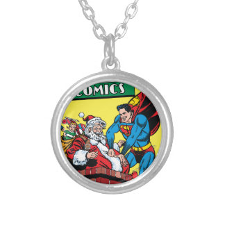 Action Comics #105 Round Pendant Necklace