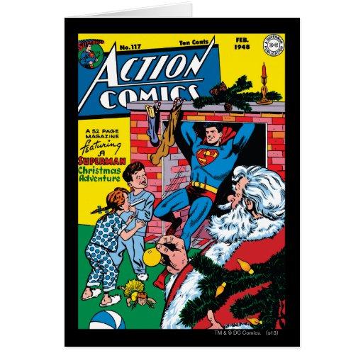 Action Comics #117 Greeting Card