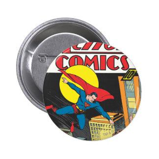 Action Comics #23 Pinback Buttons