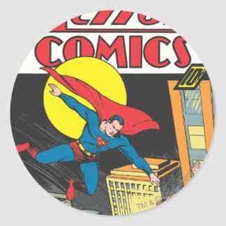 Action Comics #23 Classic Round Sticker