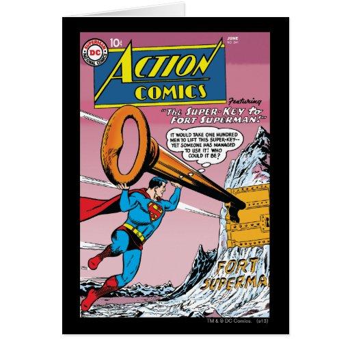 Action Comics #241 Greeting Cards
