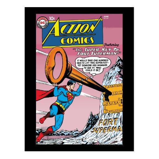 Action Comics #241 Postcard