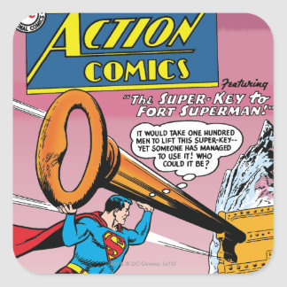 Action Comics 241 Square Stickers