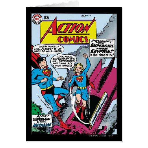 Action Comics #252 Greeting Card