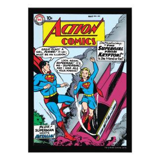 Action Comics 252 Invitation