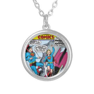 Action Comics #252 Round Pendant Necklace