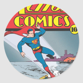 Action Comics #25 Classic Round Sticker
