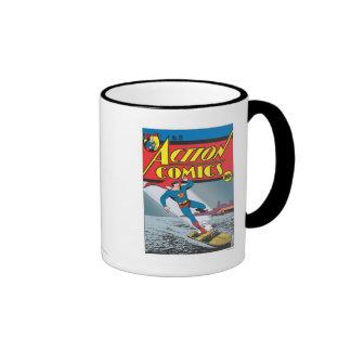 Action Comics #25 Ringer Mug