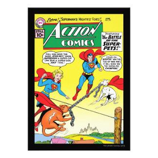 Action Comics 277 Custom Invites