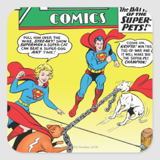 Action Comics #277 Square Sticker