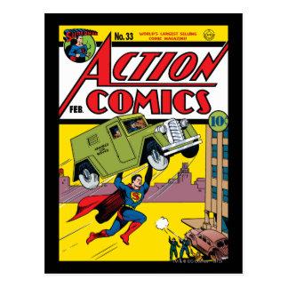 Action Comics 33 Post Card