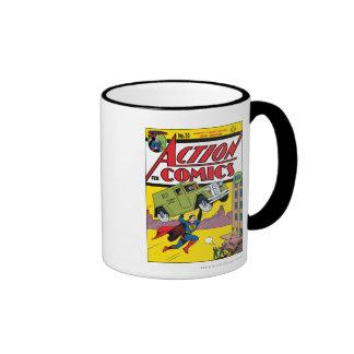 Action Comics #33 Ringer Mug