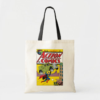 Action Comics #33 Tote Bag