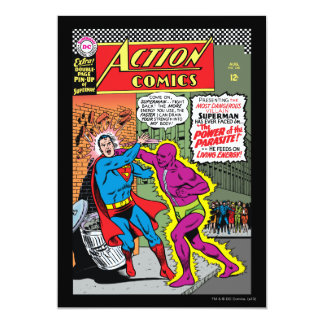 Action Comics #340 13 Cm X 18 Cm Invitation Card