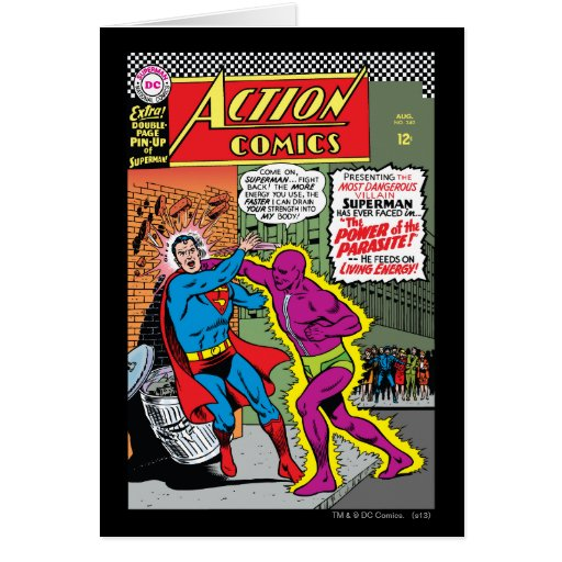 Action Comics #340 Greeting Cards