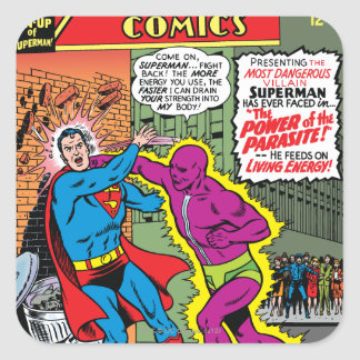 Action Comics #340 Square Sticker