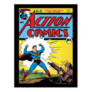 Action Comics #35 Postcard